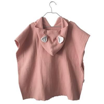 poncho-bebe-toalla-capucha-ponchos-niños-muselina-algodon-bambula-suave-mimuselina-rosa-maquillaje