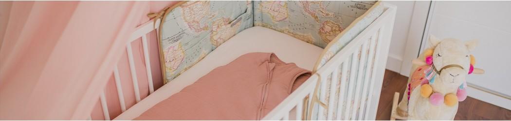Decoración textil para dormitorio del recién nacido atrapasueños y doseles