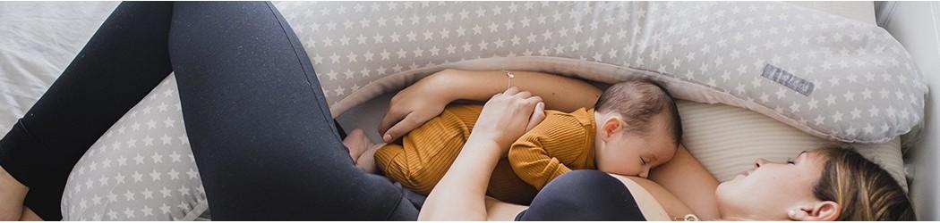 cojín nido bebe cojín de lactancia almohada nido embarazada Mimuselina
