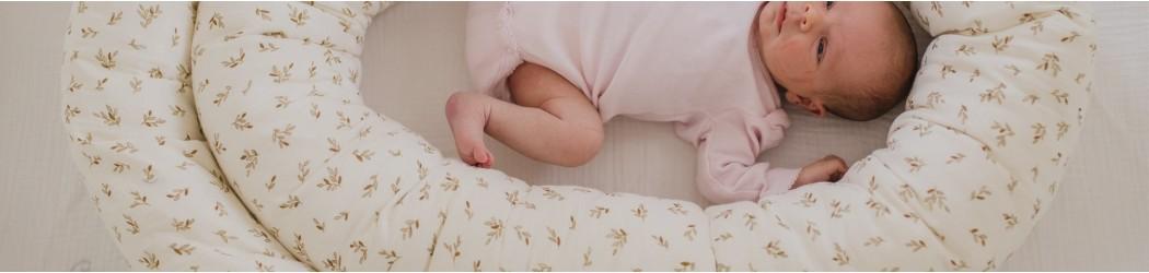 sueño y descanso del bebé: cuco nido, arrullos, colchón y ropa de cuna