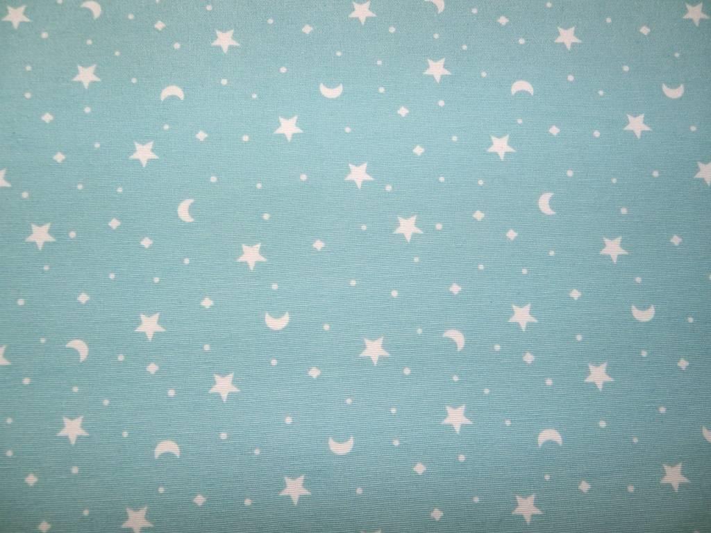 Estrellas y Lunas Mint