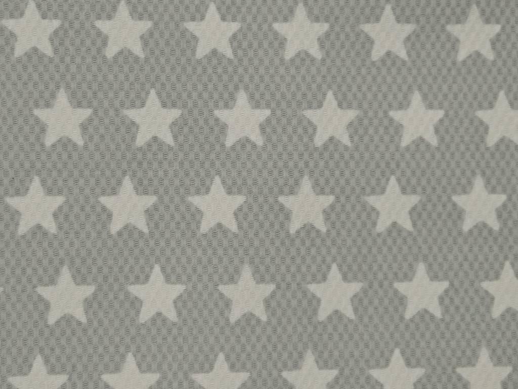 Pique Estrellas Gris