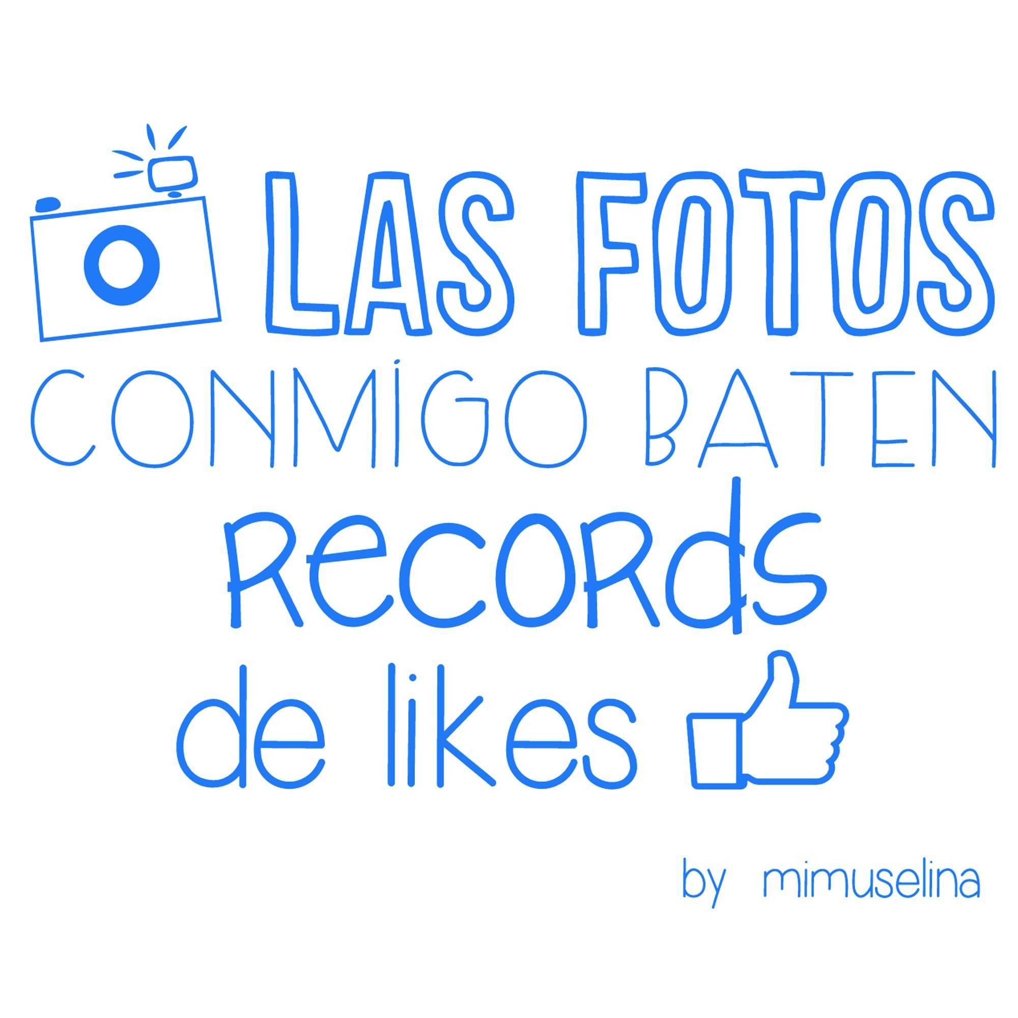 Record Likes Azul